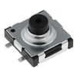 Mikrospínač 1-polohové SPST-NO 0,05A/12VDC SMT 2,6N 6,4x6mm
