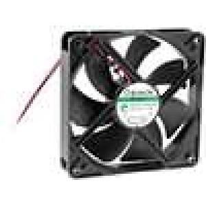 Ventilátor 12VDC 120x120x25mm 127,4m3/h 34dBA Vapo 1,9W
