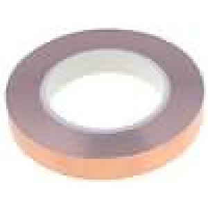 Knot: stínicí Mat: měď 19mm L:33m hladký Shoda s: UL 510
