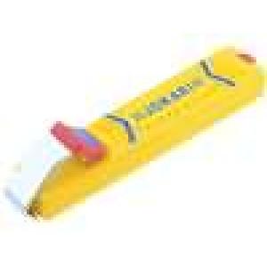 Odstraňovač izolace Vodič kulatý Prům.vod:8-28mm Délka:130mm