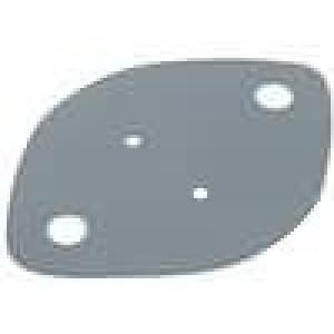 Tepelně vodivá podložka silikonová TO3 0,38K/W L:43,5mm
