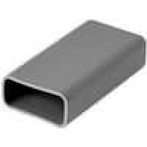 Tepelně vodivá podložka silikonová TO220 silikon L:21,7mm