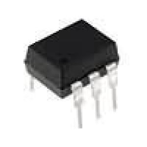 CNY17-1/VIS Optočlen THT Kanály:1 tranzistorový výstup Uizol:5,3kV Uce:70V