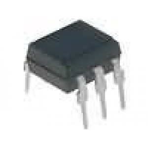H11AA2X Optočlen THT Kanály:1 tranzistorový výstup Uizol:5,3kV Uce:70V