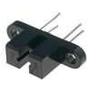 H21A3-I Optočlen štěrbinová s clonou tranzistorový výstup 30V
