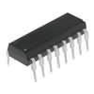 TIL193 Optočlen THT Kanály:4 tranzistorový výstup Uizol:5,3kV Uce:35V