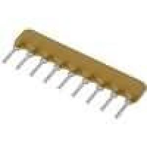 Rezistorová síť X 680Ω Poč.rezistorů:8 THT 200mW ±2% 100V
