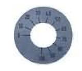 Stupnice rozsah:270°0 až 100 Ø26mm průměr otvoru 10mm