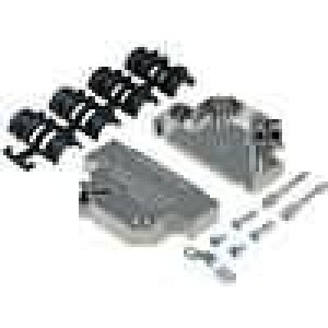 Kryt pro konektory D-Sub HD 78pin, D-sub 50pin stíněný