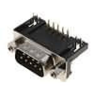 Zásuvka D-Sub 9 PIN vidlice standard 9,4mm zajištění šroubky