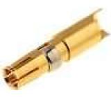 Kontakt zásuvka 8-10AWG zlacený pájení na kabel 40A 4,8mm