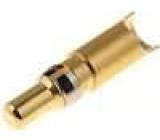 Kontakt vidlice 8-10AWG zlacený pájení na kabel 40A 4,8mm