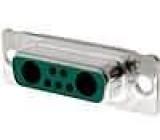 Zástrčka speciální D-Sub 7 PIN (2+5) zásuvka pájení na kabel