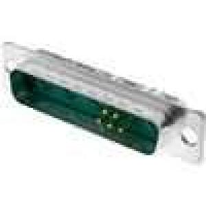 Zástrčka speciální D-Sub 9 PIN(4+5) vidlice pájení na kabel