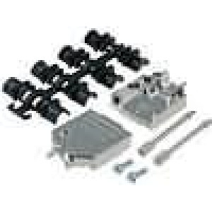Kryt pro konektory D-Sub HD 15pin, D-sub 9pin stíněný