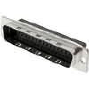 D-Sub 50 PIN vidlice bez kontaktů na kabel B:11,2mm C:61,1mm
