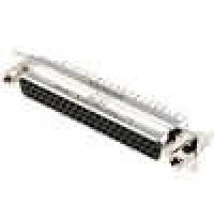 Zásuvka D-Sub HD 62 PIN zásuvka se šroubem se závitem přímý