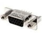Zásuvka D-Sub HD 15 PIN zásuvka se šroubem se závitem přímý