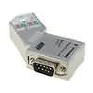 D-Sub wire, SK/FC cable PIN:9 Profibus, with interface PG IDC