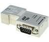 D-Sub wire, strand PIN:9 Profibus, with interface PG for cable