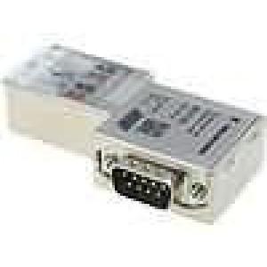 D-Sub drát, kabel SK/FC PIN:9 s diodou LED, Profibus IDC