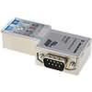 D-Sub kabel SK/FC, licna PIN:9 Profibus úhlové 90° IDC