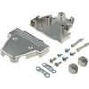Kryt pro konektory D-Sub HD 44pin, D-sub 25pin UNC4-40