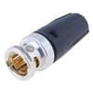 Zástrčka BNC vidlice stíněný s ochranou kabelu přímý 75Ω