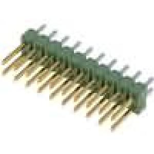 Kolíková lišta kolíkové AMPMODU MOD II vidlice PIN:20 přímý