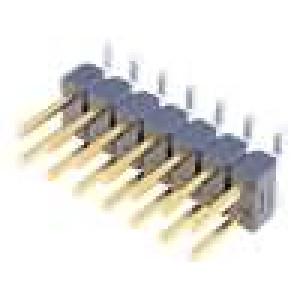 Kolíková lišta kolíkové AMPMODU MOD II vidlice 14PIN svislý