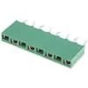 Zásuvka kolíkové HV-100 zásuvka 8 PIN přímý 2,54mm THT 1x8