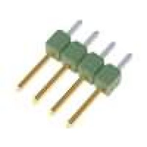 Kolíková lišta kolíkové AMPMODU MOD II vidlice 4 PIN přímý