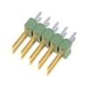 Kolíková lišta kolíkové AMPMODU MOD II vidlice 10 PIN přímý