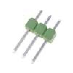 Kolíková lišta kolíkové AMPMODU MOD II vidlice 3 PIN přímý