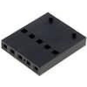 Zástrčka kolíkové C-Grid III zásuvka 5 PIN bez kontaktů 1x5