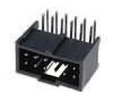 Zásuvka kolíkové C-Grid III vidlice PIN:12 úhlové 90° 2,54mm