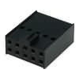 Zástrčka kolíkové C-Grid III zásuvka 10 PINbez kontaktů