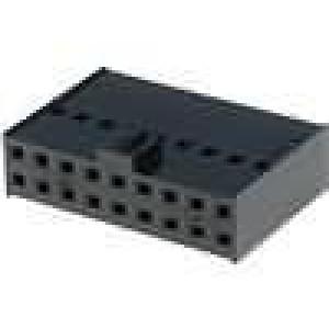 Zástrčka kolíkové C-Grid III zásuvka 18 PIN bez kontaktů