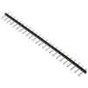 Kolíková lišta kolíkové vidlice PIN:24 5mm THT 1x24 16A 300V