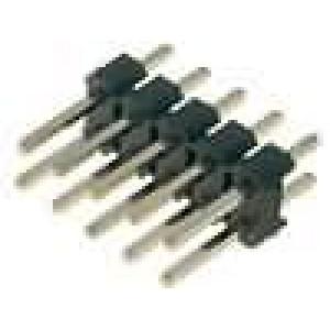 Kolíková lišta kolíkové vidlice 10 PIN přímý 2,54mm THT 2x5