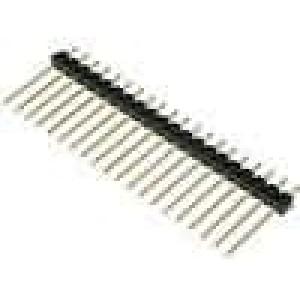 Kolíková lišta kolíkové vidlice PIN:20 přímý 2,54mm THT 1x20