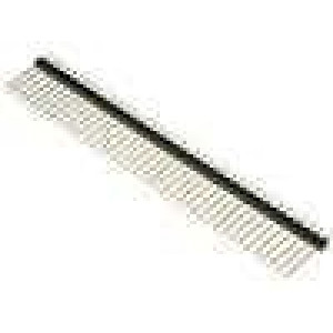 Kolíková lišta kolíkové vidlice PIN:40 přímý 2,54mm THT 1x40