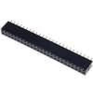 Zásuvka kolíkové zásuvka PIN:50 přímý 2,54mm THT 2x25 3A