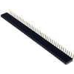 Zásuvka kolíkové zásuvka PIN:40 úhlové 90° 2,54mm THT 1x40