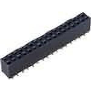 Zásuvka kolíkové zásuvka PIN:34 svislý 2,54mm SMT 2x17