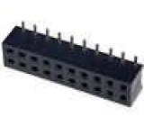 Zásuvka kolíkové zásuvka PIN:20 svislý 2mm SMT 2x10