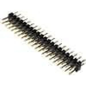 Kolíková lišta kolíkové vidlice PIN:40 přímý 2mm THT 2x20