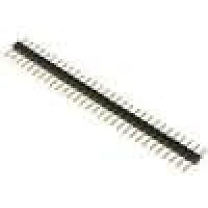 Kolíková lišta kolíkové vidlice PIN:30 přímý 2mm THT 1x30