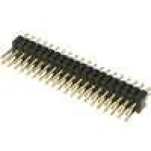 Kolíková lišta kolíkové vidlice PIN:40 přímý 1,27mm THT 2x20