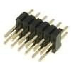 Kolíková lišta kolíkové vidlice PIN:12 přímý 1,27mm THT 2x6
